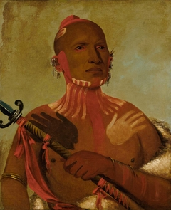 Wée-sheet, Sturgeon's Head, a Fox Warrior