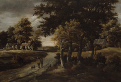 Wooded Landscape with Figures on aPath