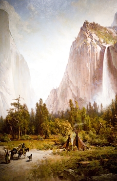 Yosemite Valley (El Capitan and Bridal Veil Falls)