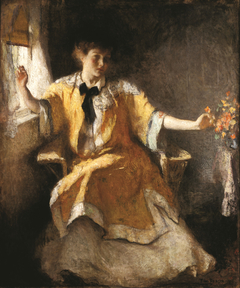 Young Girl by a Window