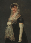 Young Lady Wearing a Mantilla and Basquina