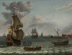 Zeeland Flagship Returning to Fort Rammekens