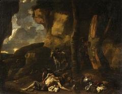 A bandits' cave