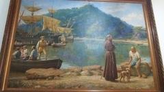 A chegada de Frei Pedro Palácios