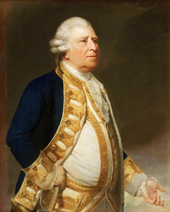 A flag officer, previously thought to be Sir Chaloner Ogle (1729-1816), Admiral of the Red