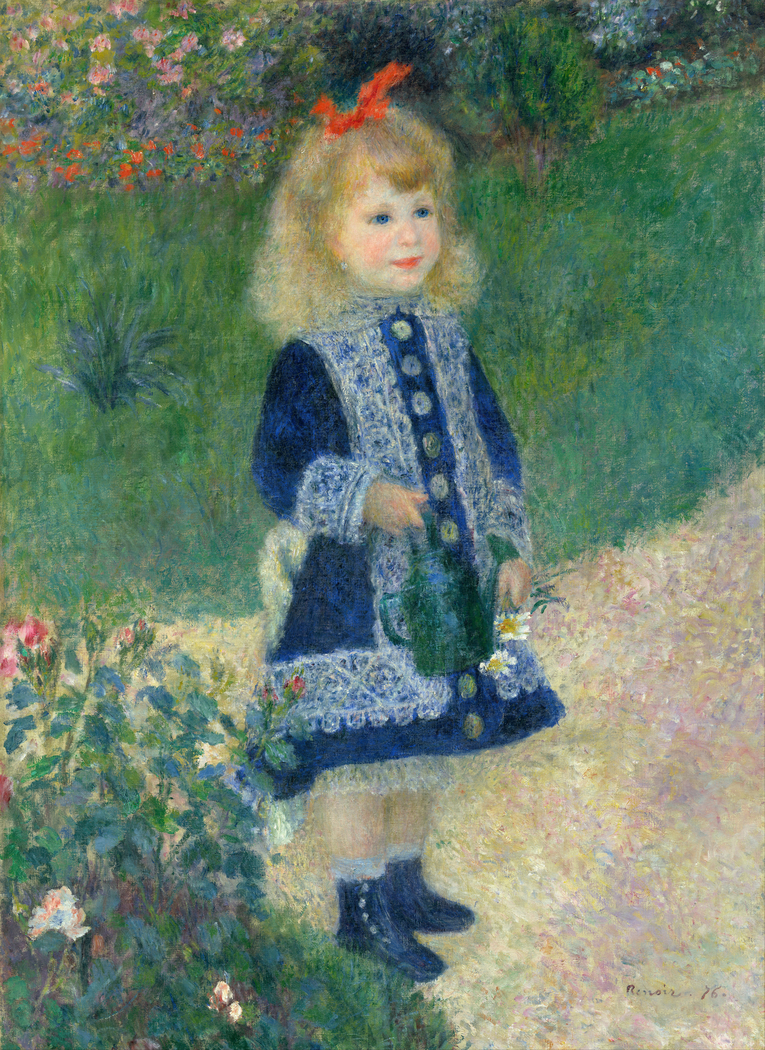 A Girl with a Watering Can