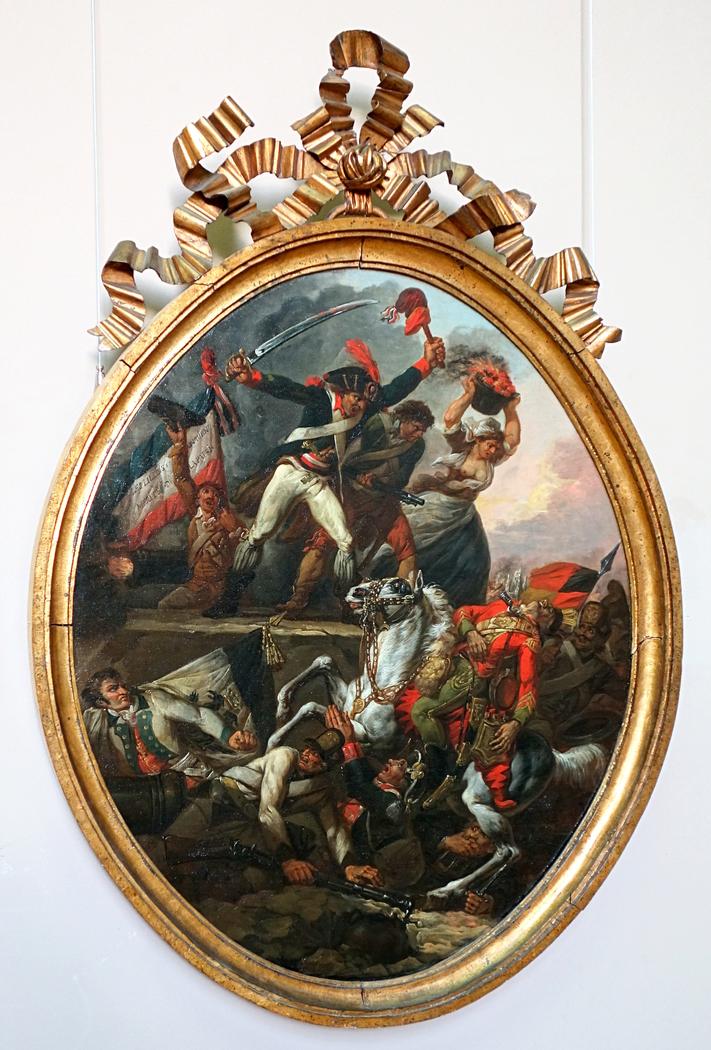 Allégorie relative au siège de Lille de 1792