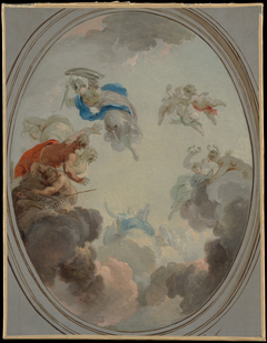 Allegory of Government: Wisdom Defeating Discord