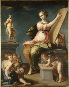 Allegory of Painting and Sculping