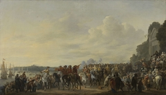 Arrival of Prince William II at the Estate Welna on the Amstel during the Attack on Amsterdam, July 31, 1650