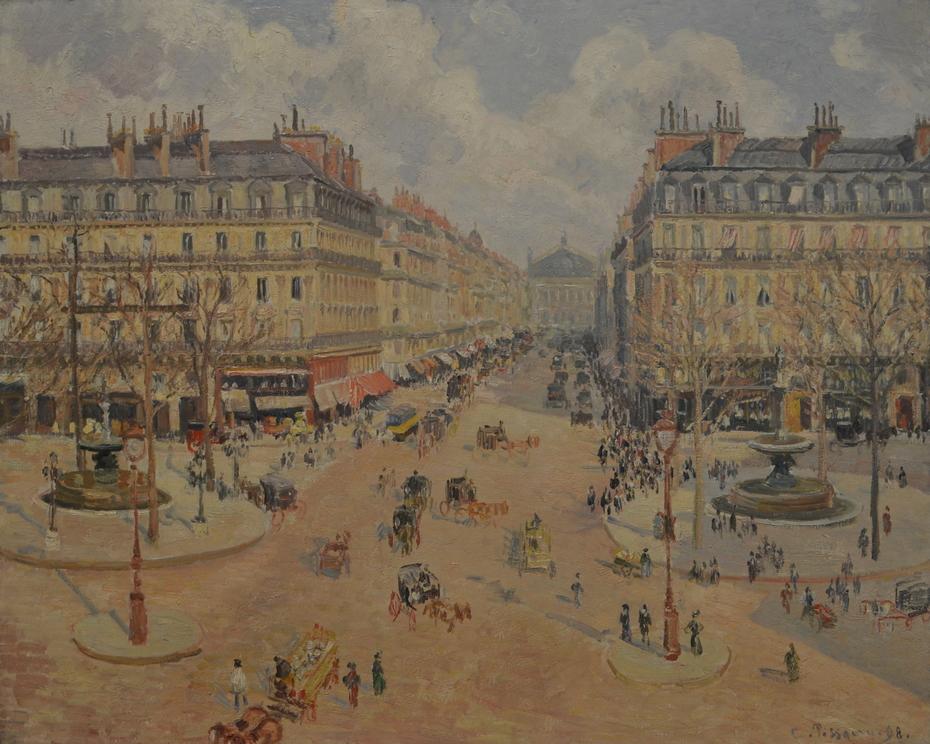 Avenue de l'Opéra: Morning Sunshine