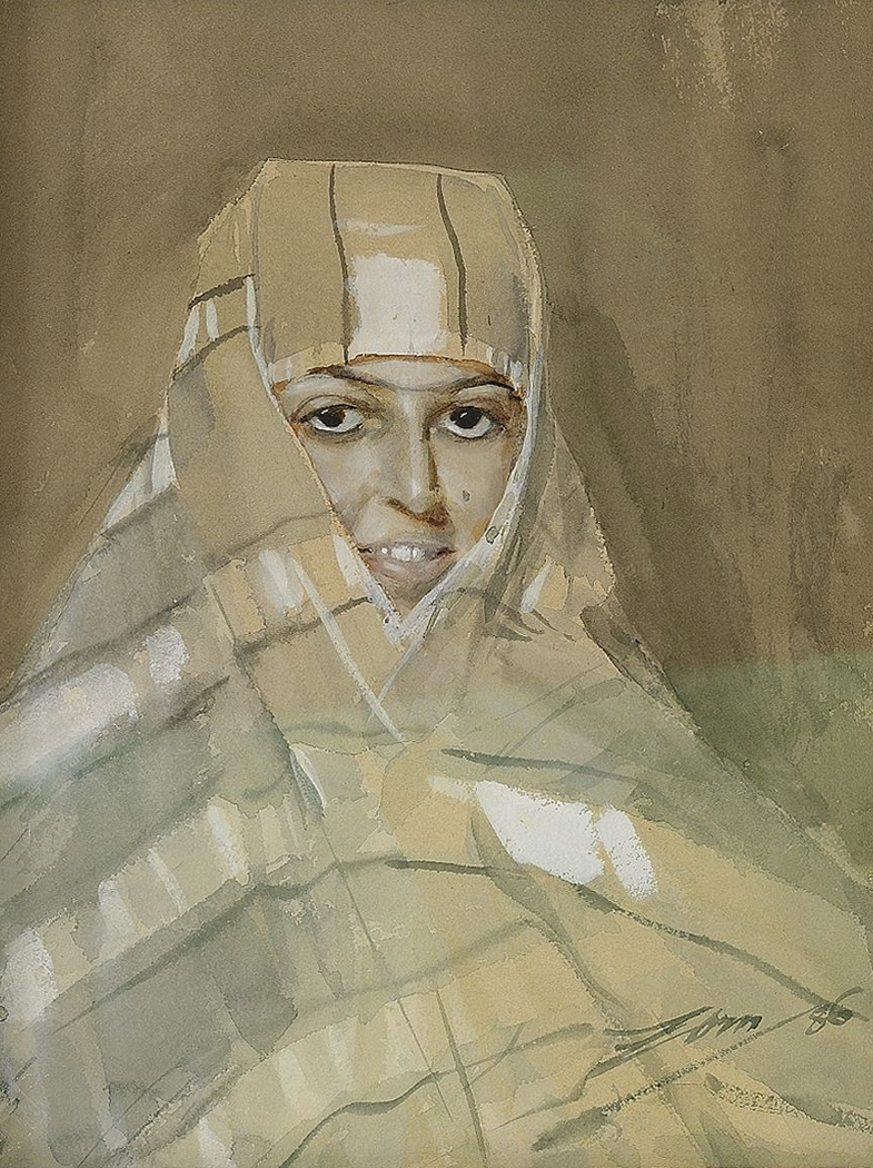 Bedouin Girl