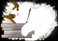 Benek - The Book Lover Cat