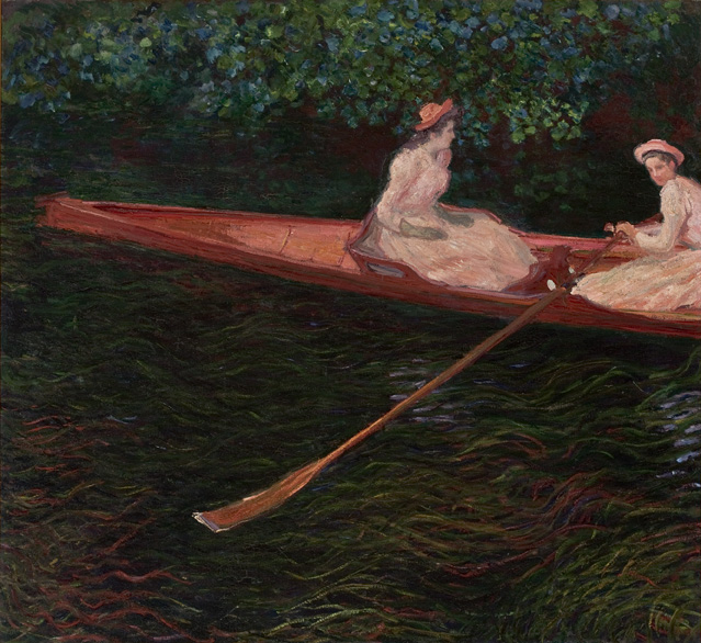 Canoe on the Epte (En canot sur l'Epte ou Canoé sur l'Epte)