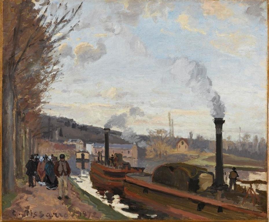 Bords de la Seine à Bougival