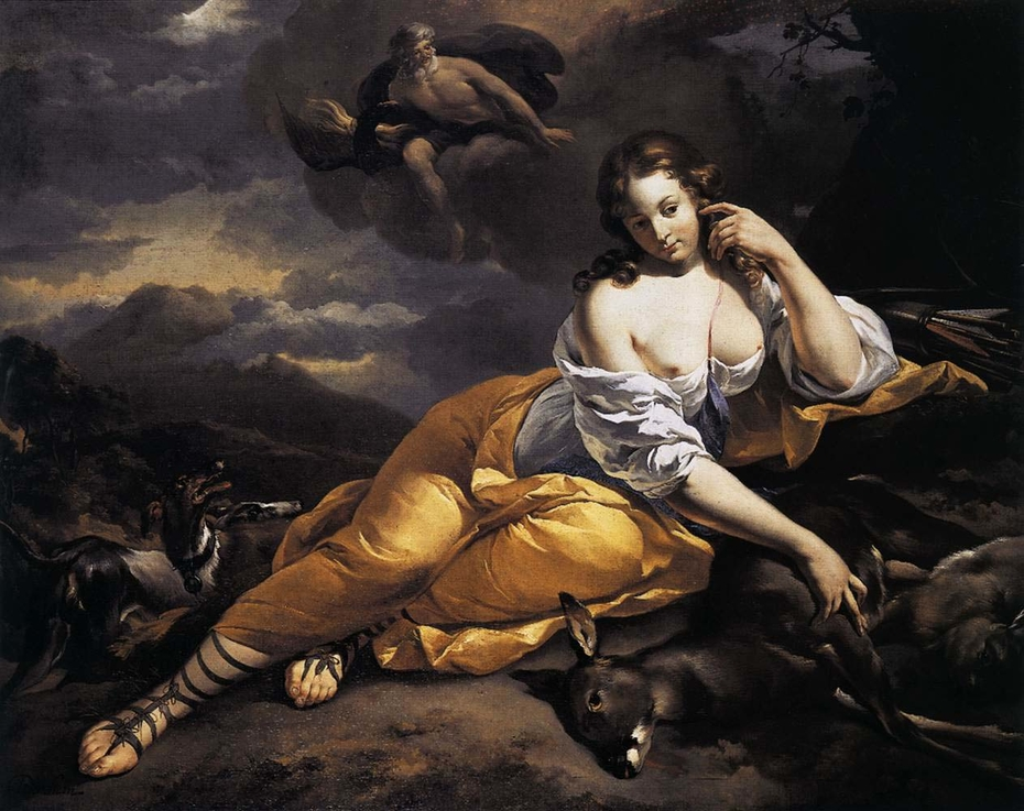 Callisto and Jupiter