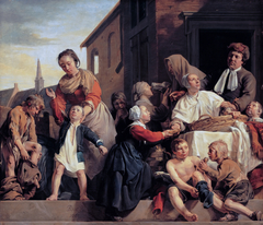 Caring for children at the Orphanage in Haarlem: three Acts of Mercy