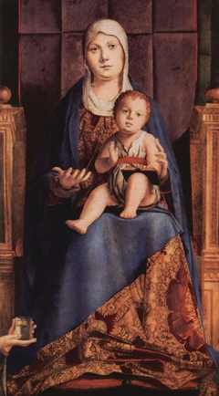 Central panel San Cassiano Altarpiece