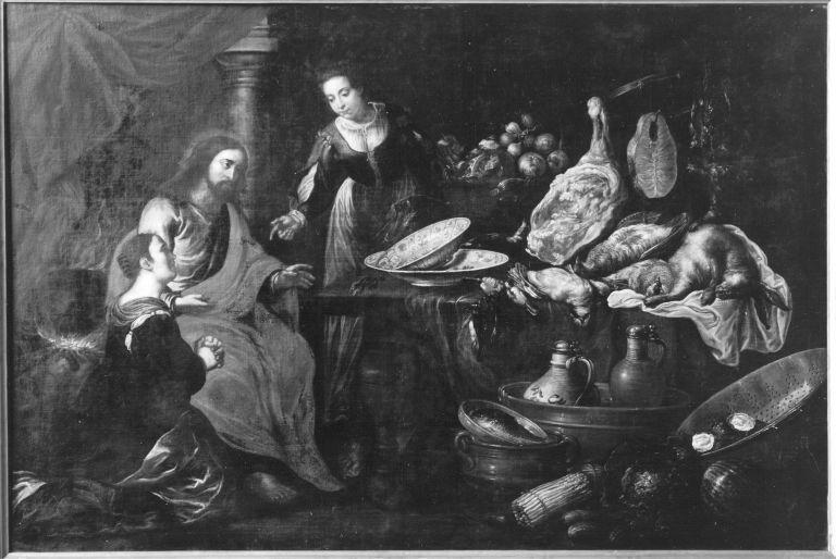 Christus bei Maria und Martha (?)