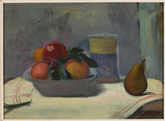 Compote with four apples