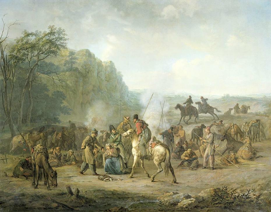 Cossack Bivouac, 1813