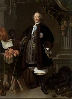 Count Johan Maurits van Nassau-Siegen (1604–1679) as the Grandmaster of the Knights of Malta