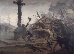 Death of Sauveur, Breton Hero