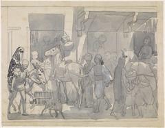 Egyptisch straattafereel