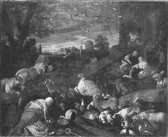 Einzug der Tiere in die Arche Noah (Kopie nach)