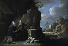 Elijah and the Ravens (after Teniers)