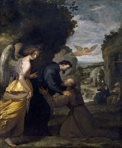 Encuentro de San Juan de Mata y San Félix de Valois