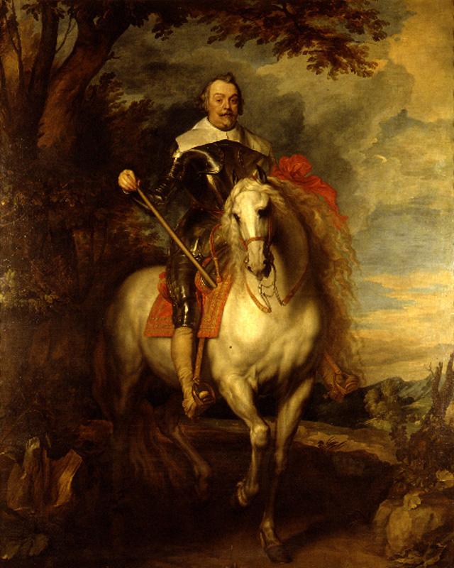 Equestrian portrait of Francisco de Moncada