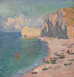 Étretat: The Beach and the Falaise d'Amont