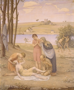 Eurydice Bitten by the Snake