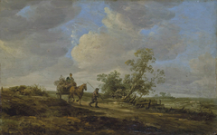 Farmer's cart on a road