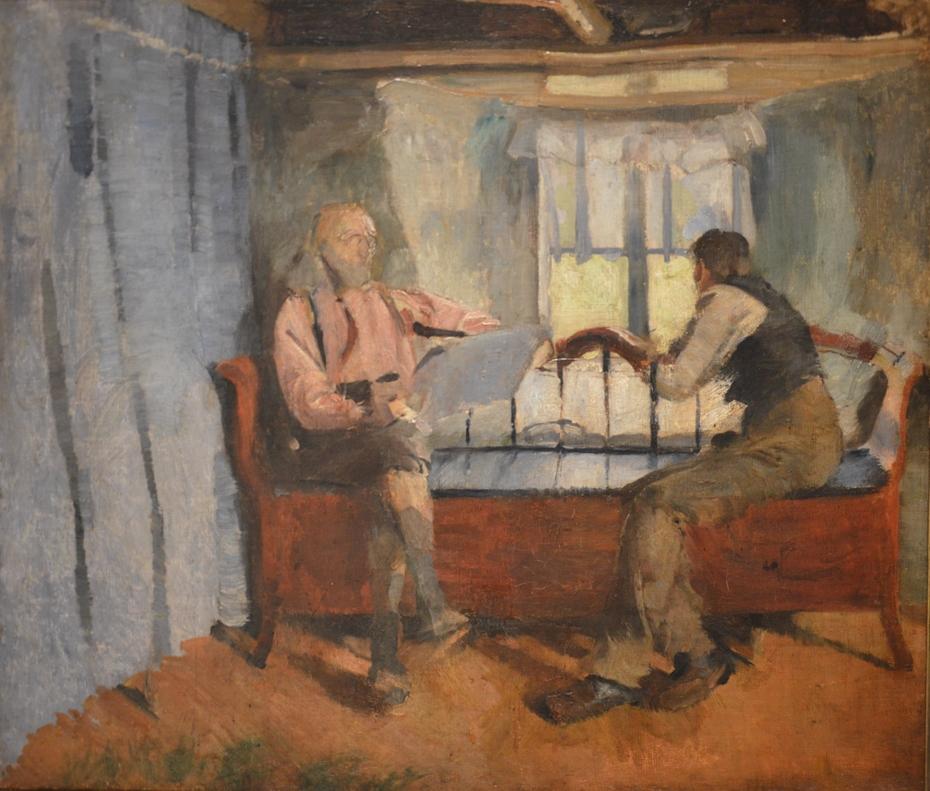 Farmhouse interior at Knabberud in Bærum