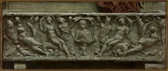 Fragment of sarcophagus from Palazzo Giustiniani in Rome