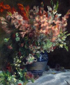 Gladioli in a Vase