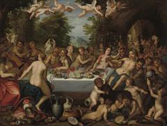 Göttermahl – Hochzeit von Bacchus und Ariadne (Kopie nach)