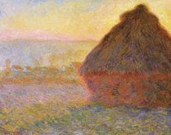 Grainstack. (Sunset.)