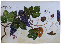 Grapes for breakfast for Giovanni Garzoni