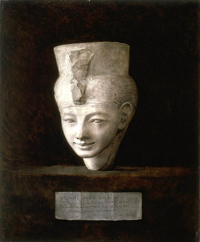 Head of the Queen of Egypt