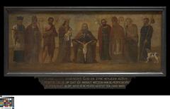 Heilige Drievuldigheid met heiligen