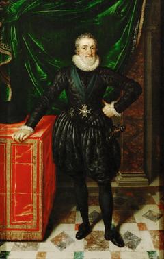 Henry IV, King of France, Dressed in Black