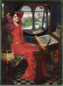 """I am half sick of shadows"" said the Lady of Shalott"