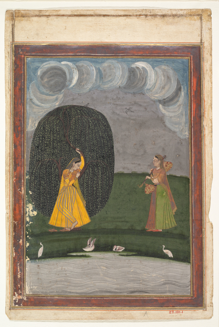 Illustration from a Ragamala Series (Garland of Musical Modes)