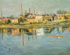 Industrial Landscape near Water