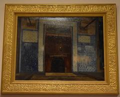 Intérieur de la mosquée Rüstem Pacha de Constantinople