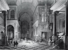 Interior of a Church Built in the Late-Renaissance Style
