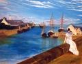 Interpretation of the Work The Harbor at Lorient - Berthe Morisot
